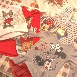 6 pc Girls Minnie Mouse Bundle 5T